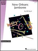 Cover icon of New Orleans Jamboree sheet music for piano solo (elementary) by Bill Boyd and Miscellaneous, beginner piano (elementary)