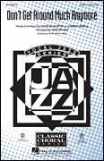 Cover icon of Don't Get Around Much Anymore sheet music for choir (SAB: soprano, alto, bass) by Duke Ellington, Bob Russell and Mark Brymer, intermediate skill level