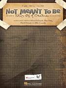 Cover icon of Not Meant To Be sheet music for voice, piano or guitar by Theory Of A Deadman, David Brenner, Dean Back, Kara DioGuardi and Tyler Connolly