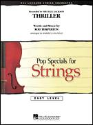 Cover icon of Thriller (COMPLETE) sheet music for orchestra by Robert Longfield, Rod Temperton and Michael Jackson, intermediate