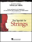 Cover icon of Viva La Vida (COMPLETE) sheet music for orchestra by Larry Moore and Coldplay