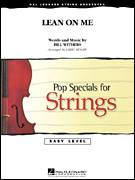 Cover icon of Lean On Me (COMPLETE) sheet music for orchestra by Bill Withers and Larry Moore