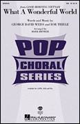 Cover icon of What A Wonderful World sheet music for choir (soprano voice, alto voice, choir) by George David Weiss, Bob Thiele, Louis Armstrong and Mark Brymer, intermediate choir (soprano voice, alto voice, choir)