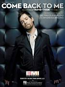 Cover icon of Come Back To Me sheet music for voice, piano or guitar by David Cook, Amund Bjorklund, Espen Lind and Zac Maloy, intermediate