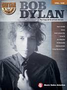 Cover icon of The Times They Are A-Changin' sheet music for guitar (chords) by Bob Dylan, intermediate skill level