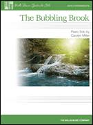 Cover icon of The Bubbling Brook sheet music for piano solo (elementary) by Carolyn Miller, classical score, beginner piano (elementary)