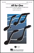 Cover icon of All For One (from High School Musical 2) sheet music for choir (2-Part) by Matthew Gerrard, Robbie Nevil, High School Musical 2 and Mark Brymer, intermediate duet