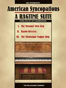 Cover icon of American Syncopations - A Ragtime Suite sheet music for piano solo (elementary) by Eric Baumgartner, beginner piano (elementary)