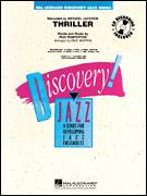 Cover icon of Thriller (COMPLETE) sheet music for jazz band by Paul Murtha, Rod Temperton and Michael Jackson, intermediate