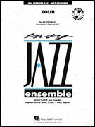 Cover icon of Four (COMPLETE) sheet music for jazz band by Miles Davis and John Berry