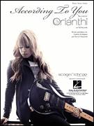 Cover icon of According To You sheet music for voice, piano or guitar by Orianthi, Andrew Frampton and Steve Diamond, intermediate voice, piano or guitar