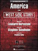 Cover icon of America (from West Side Story) (COMPLETE) sheet music for orchestra by Stephen Sondheim, Leonard Bernstein and Stephen Bulla