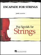Cover icon of Escapade for Strings (COMPLETE) sheet music for orchestra by John Cacavas