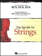 Cover icon of Fun, Fun, Fun (COMPLETE) sheet music for orchestra by Brian Wilson, Mike Love, Larry Moore and The Beach Boys, intermediate