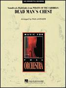 Cover icon of Soundtrack Highlights from Pirates Of The Caribbean: Dead Man's Chest (COMPLETE) sheet music for full orchestra by Hans Zimmer and Paul Lavender, intermediate