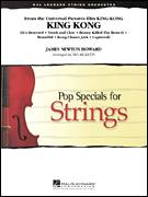 Cover icon of King Kong (COMPLETE) sheet music for orchestra by James Newton Howard and Ted Ricketts, intermediate skill level