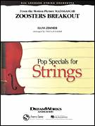 Cover icon of Zoosters Breakout (from Madagascar) (COMPLETE) sheet music for orchestra by Hans Zimmer and Paul Lavender, intermediate skill level