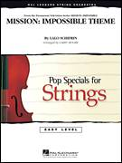 Cover icon of Mission: Impossible Theme (COMPLETE) sheet music for orchestra by Lalo Schifrin and Larry Moore, intermediate