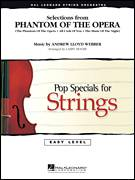 Cover icon of Selections from Phantom Of The Opera (COMPLETE) sheet music for orchestra by Andrew Lloyd Webber and Larry Moore