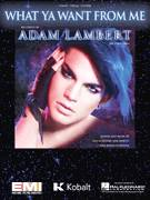 Cover icon of What Ya Want From Me sheet music for voice, piano or guitar by Adam Lambert, Alecia Moore, Johan Schuster and Max Martin, intermediate skill level