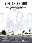 Cover icon of Life After You sheet music for voice, piano or guitar by Daughtry, Brett James, Chad Kroeger, Chris Daughtry and Joey Moi, intermediate