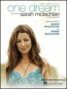 Cover icon of One Dream sheet music for voice, piano or guitar by Sarah McLachlan, intermediate