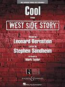 Cover icon of Cool (from West Side Story) (COMPLETE) sheet music for jazz band by Stephen Sondheim, Leonard Bernstein and Mark Taylor