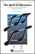 Cover icon of The Spirit Of Adventure sheet music for choir (SATB: soprano, alto, tenor, bass) by Michael Giacchino and Kirby Shaw, intermediate