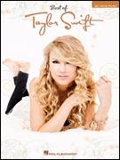 Cover icon of White Horse sheet music for piano solo (big note book) by Taylor Swift and Liz Rose, easy piano (big note book)