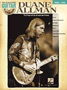 Cover icon of Trouble No More (Someday Baby) sheet music for guitar (tablature, play-along) by Allman Brothers Band, The Allman Brothers Band and Muddy Waters, intermediate guitar (tablature, play-along)