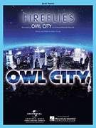 Cover icon of Fireflies sheet music for piano solo by Owl City and Adam Young, easy skill level