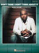 Cover icon of Don't Think I Don't Think About It sheet music for voice, piano or guitar by Darius Rucker and Clay Mills, intermediate