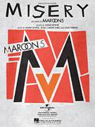 Cover icon of Misery sheet music for voice, piano or guitar by Maroon 5, Adam Levine, Jesse Carmichael and Sam Farrar, intermediate