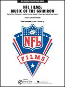 Cover icon of NFL Films: Music Of The Gridiron (COMPLETE) sheet music for concert band by Michael Brown