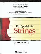 Cover icon of Yesterday (COMPLETE) sheet music for orchestra by Paul McCartney, John Lennon, Robert Longfield and The Beatles, intermediate skill level