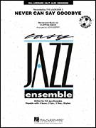 Cover icon of Never Can Say Goodbye (COMPLETE) sheet music for jazz band by John Berry and The Jackson 5, intermediate jazz band