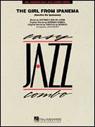 Cover icon of The Girl From Ipanema (Garota De Ipanema) (COMPLETE) sheet music for jazz band by Antonio Carlos Jobim, John Berry, Norman Gimbel and Vinicius de Moraes