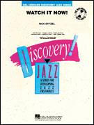 Cover icon of Watch It Now! (COMPLETE) sheet music for jazz band by Rick Stitzel, intermediate skill level