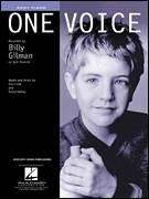 Cover icon of One Voice sheet music for piano solo by Billy Gilman, David Malloy and Don Cook, easy