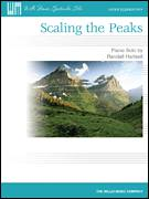 Cover icon of Scaling The Peaks sheet music for piano solo (elementary) by Randall Hartsell, classical score, beginner piano (elementary)