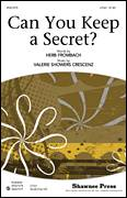 Cover icon of Can You Keep A Secret? sheet music for choir (2-Part) by Herb Frombach and Valerie Crescenz, intermediate duet
