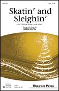 Cover icon of Skatin' And Sleighin' sheet music for choir (2-Part) by Greg Gilpin, intermediate duet