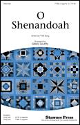 Cover icon of Shenandoah sheet music for choir (TTBB: tenor, bass) by Greg Gilpin and Miscellaneous, intermediate
