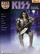 Cover icon of Rock And Roll All Nite sheet music for bass (tablature) (bass guitar) by KISS, Gene Simmons and Paul Stanley, intermediate skill level