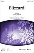 Cover icon of Blizzard sheet music for choir (SATB: soprano, alto, tenor, bass) by John Parker and Vicki Tucker Courtney, intermediate