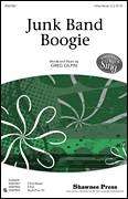 Cover icon of Junk Band Boogie sheet music for choir (3-Part Mixed) by Greg Gilpin, intermediate