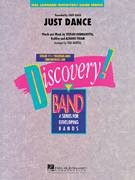 Cover icon of Just Dance sheet music for concert band (full score) by Lady Gaga, Aliaune Thiam, RedOne and Paul Murtha, intermediate