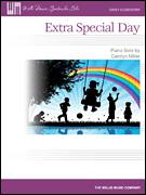 Cover icon of Extra Special Day sheet music for piano solo (elementary) by Carolyn Miller, beginner piano (elementary)