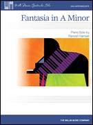 Cover icon of Fantasia In A Minor sheet music for piano solo (elementary) by Randall Hartsell, classical score, beginner piano (elementary)