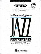 Cover icon of Yesterday (COMPLETE) sheet music for jazz band by John Lennon, Paul McCartney, Rick Stitzel and The Beatles, intermediate jazz band